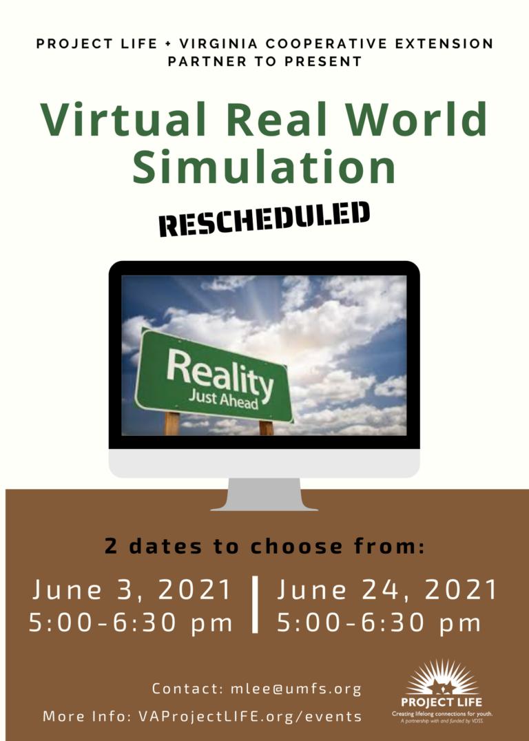 Real World Simulation (1 of 2)