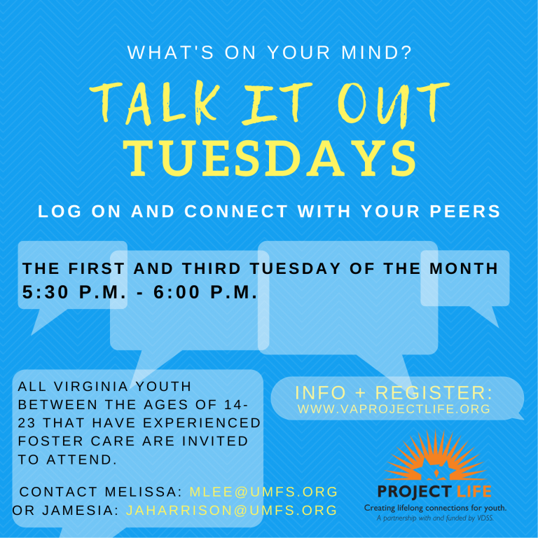 Talk it Out Tuesdays